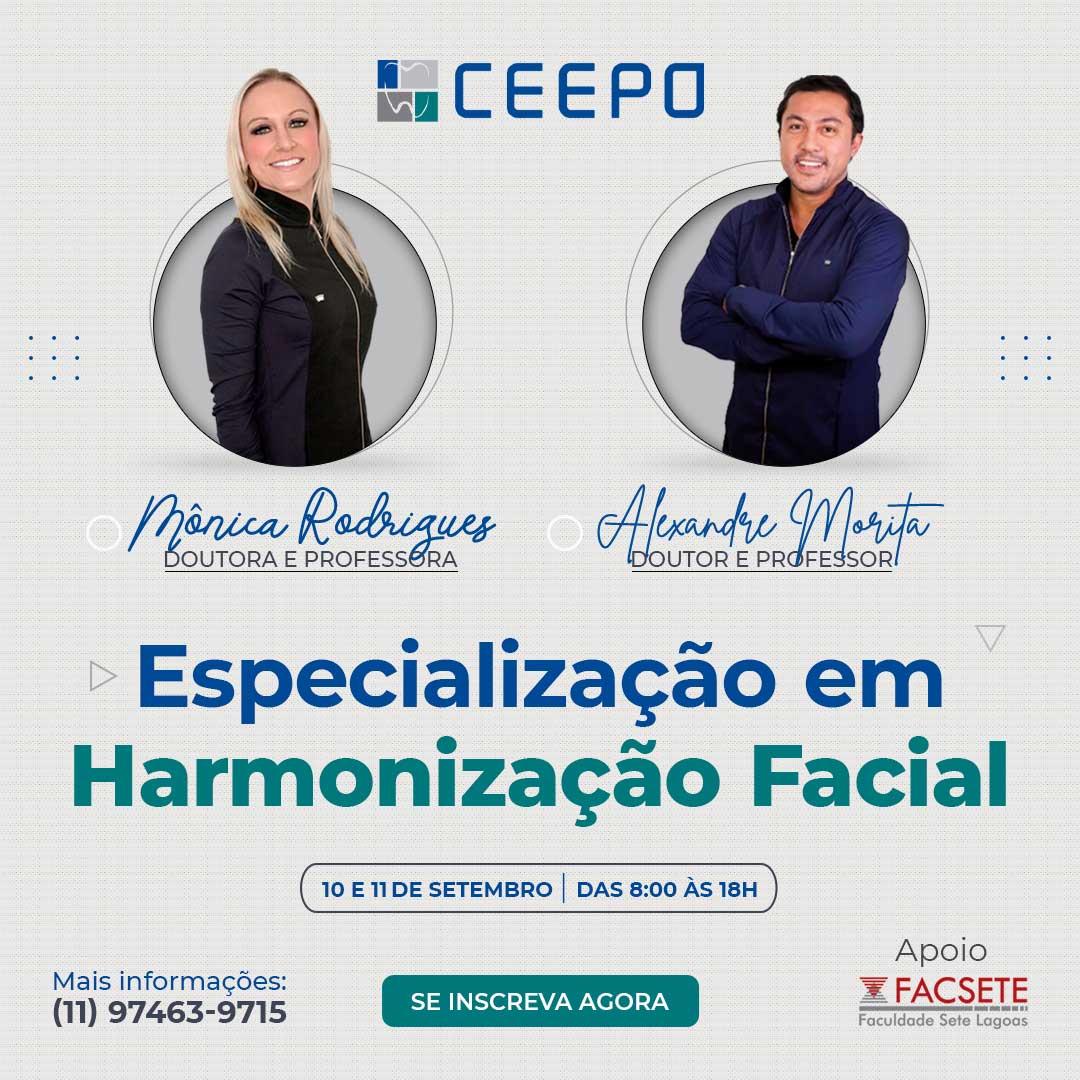 Curso de Especialização em Harmonização Facial - CEEPO